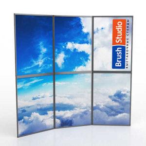 Выставочный стенд Mobistand Fold-Up 3x2 рамки