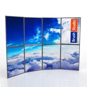 Выставочный стенд Mobistand Fold-Up 4x2 рамки